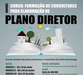 ARTE FINAL - CURSO PLANO DIRETOR